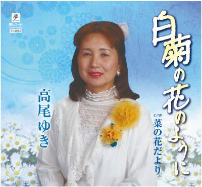 白菊の花のように